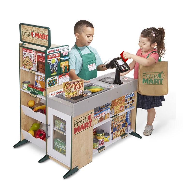 Melissa & Doug - Fresh Mart Épicerie - les motifs peuvent varier