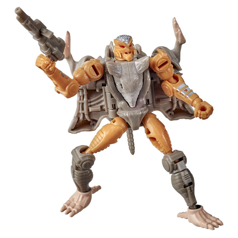 Transformers WFC-K2 Rattrap Action Figure