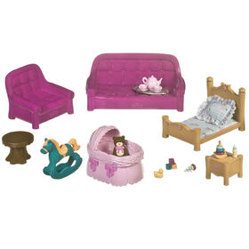 Li'l Woodzeez, Living Room & Nursery Playset