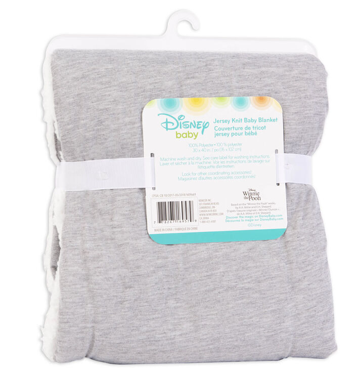 Disney Baby Jersey Knit Baby Blanket- Winnie The Pooh