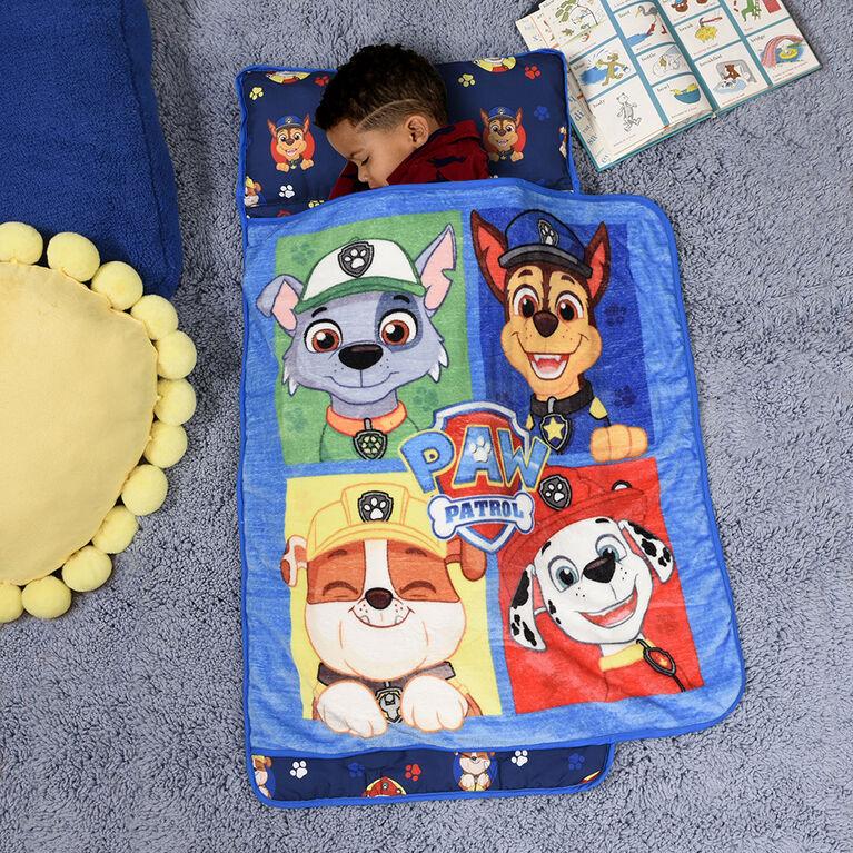 Couverture pour la sieste avec oreiller intégré, La Pat' Patrouille