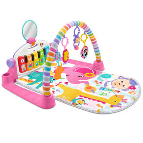 Fisher-Price - Tapis piano de luxe - Rose - Édition anglaise