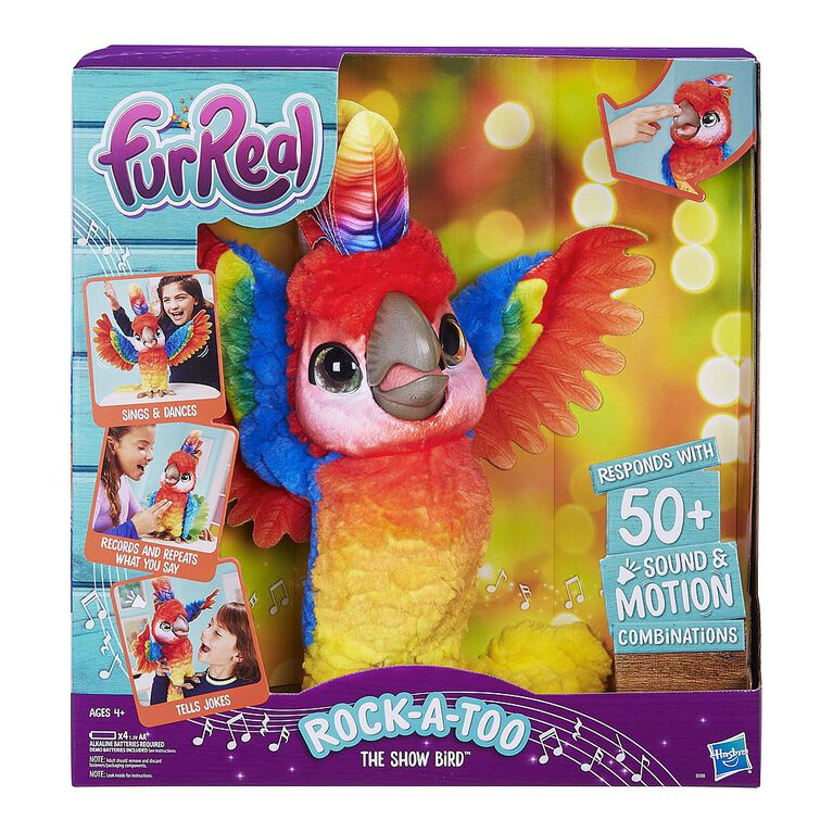 furReal Rock-a-too, the Show Bird - R Exclusive