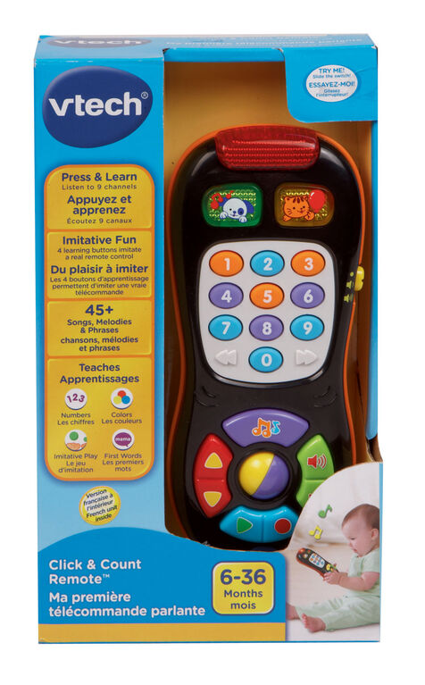 Vtech - Click & Count Remote - French Edition