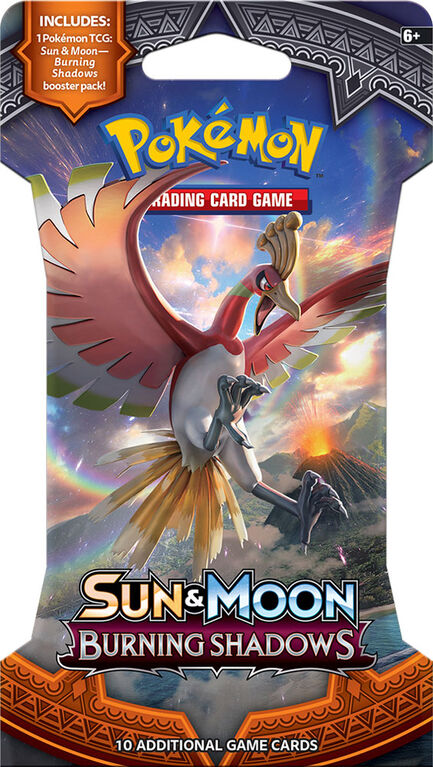 Pokemon Burning Shadows Blister Pack