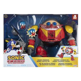 Sonic Giant Eggman Robot Battle Set