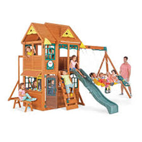 KidKraft Meadowbrook Wooden Swing Set