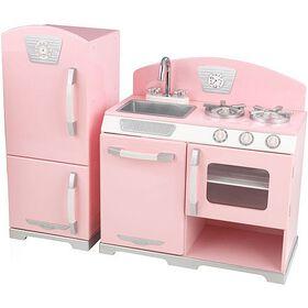 KidKraft - Pink Retro Kitchen