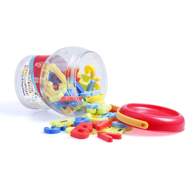 101 pieces Magnetic Letters, Numbers & Signs