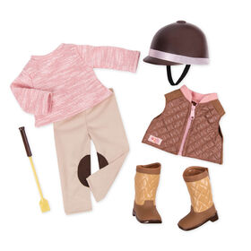 Our Generation, Riding In Style, Equestrian Outfit for 18-inch Dolls