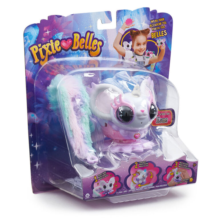 Pixie Belles - Esme (blanc) - Jouet animal interactif enchanté