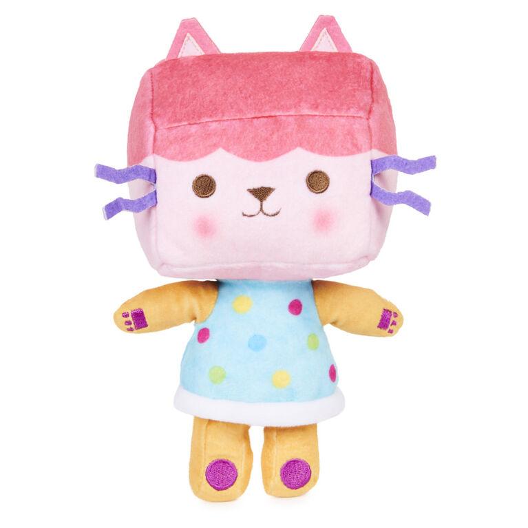DreamWorks, Gabby's Dollhouse, Peluche Purr-ific Plush Baby Box Cat de 20,3 cm