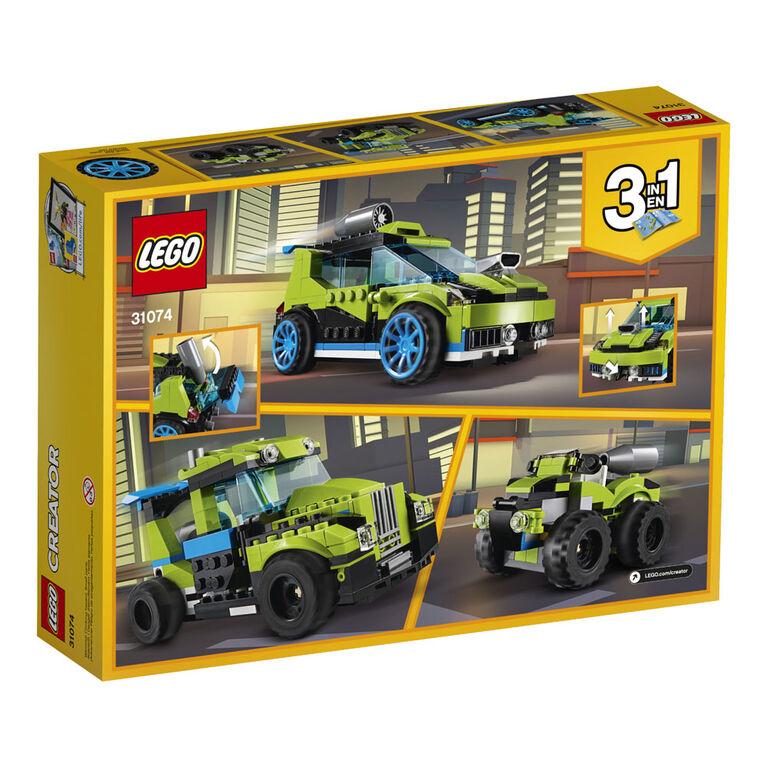 LEGO Creator La voiture de rallye 31074