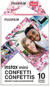 Fujifilm Instax Mini Confetti Instant Film - Single Pack (10 EXP)