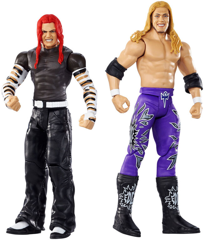 WWE Wrestlemania Jeff Hardy vs Edge 2-Pack - English Edition
