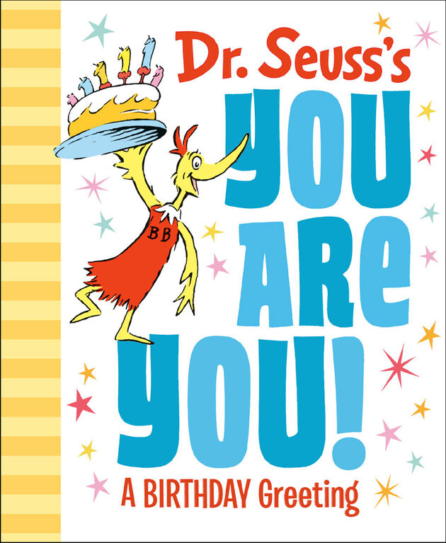 Dr. Seuss's You Are You! A Birthday Greeting - English Edition