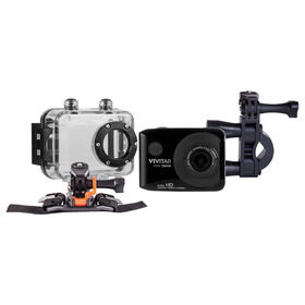 Vivitar - Full HD Action Camera - Black