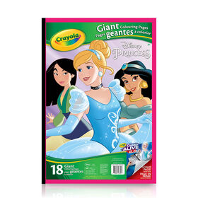 Crayola - Giant Colouring Pages, Princess