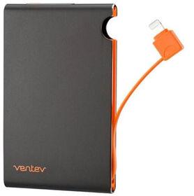 Ventev Powercell 3000mAh w/Lightning Cable Noir (543600)