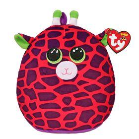 Ty Squish Gilbert Pink Giraffe 10 inch