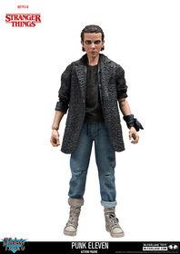 """Figurine de 7 pouces Stranger Things - """"Onze"""" Punk."""
