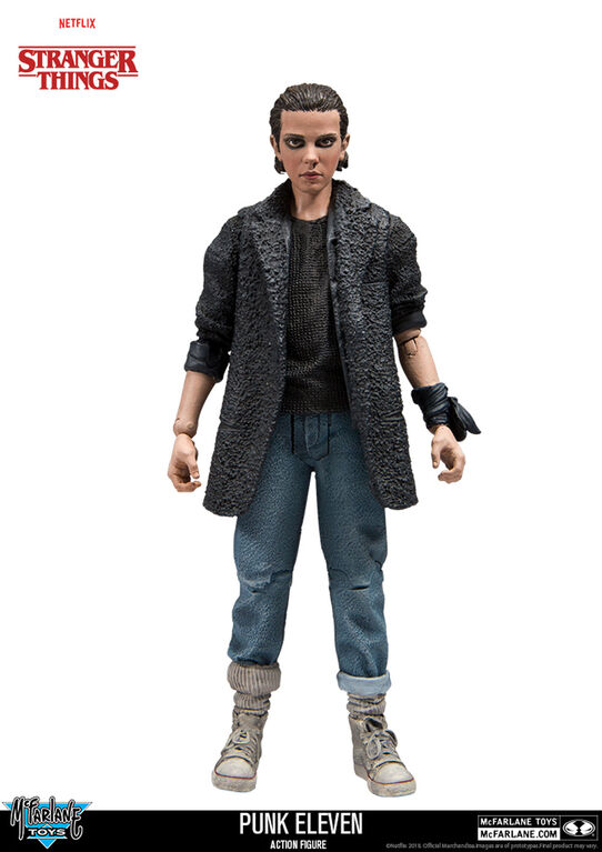 "Stranger Things Punk Eleven 7"" Action Figure"