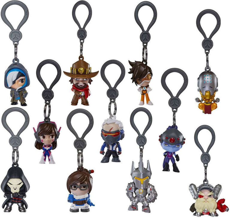 Overwatch Clip On Backpack Hangers