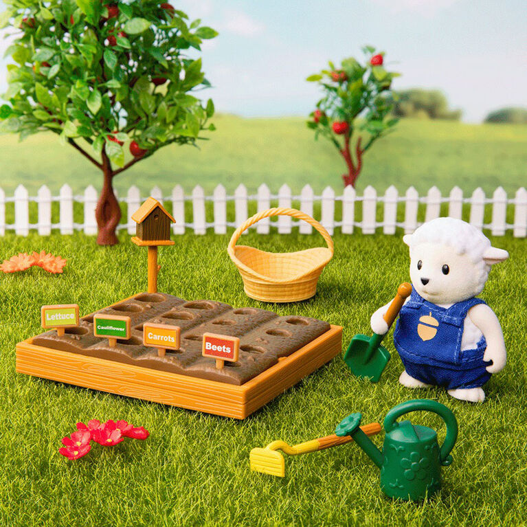Ensemble De Jardin, Li'l Woodzeez, Ensemble de jardin avec figurine d'animal