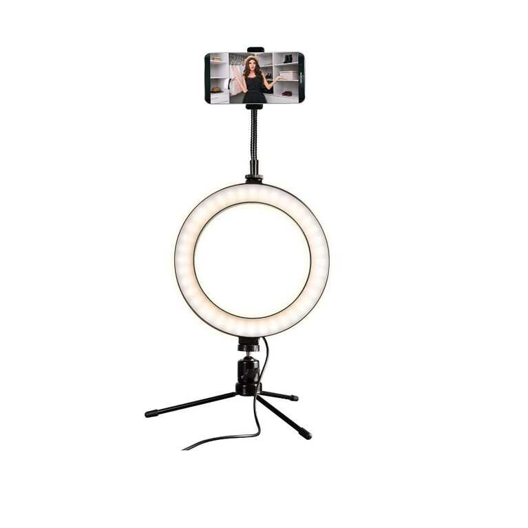 "Brookstone 8"" Studio Ring Light - Édition anglaise"