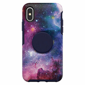 Otterbox Otter+Pop Symmetry iPhone XS Blue Nebula