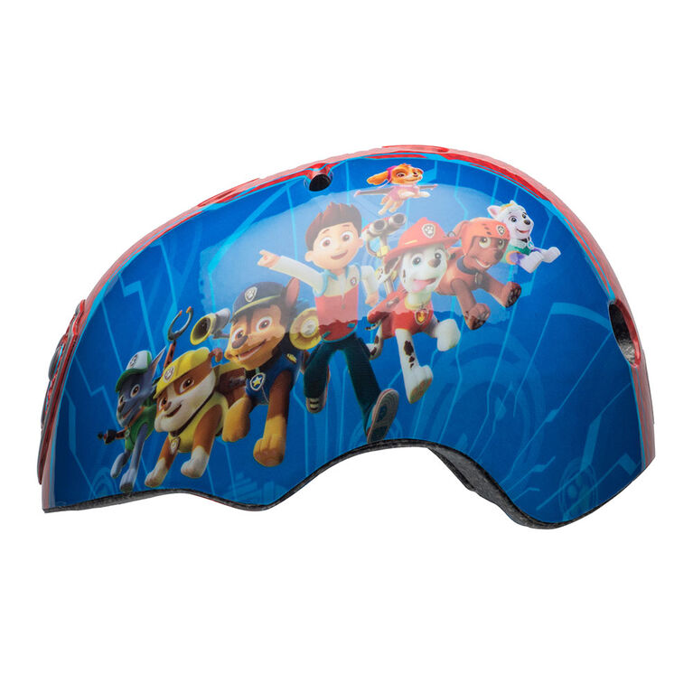 PAW Patrol - Child Multisport Helmet - Blue/Red (Fits head sizes 50 - 54 cm)