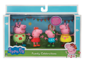 Peppa Pig Family Celebrations 4pk - English Edition