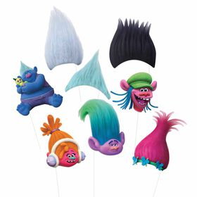 Trolls Photo Booth Props, 8 pieces