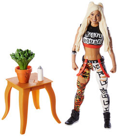 WWE - Collection Elite - Figurine articulée - Liv Morgan.