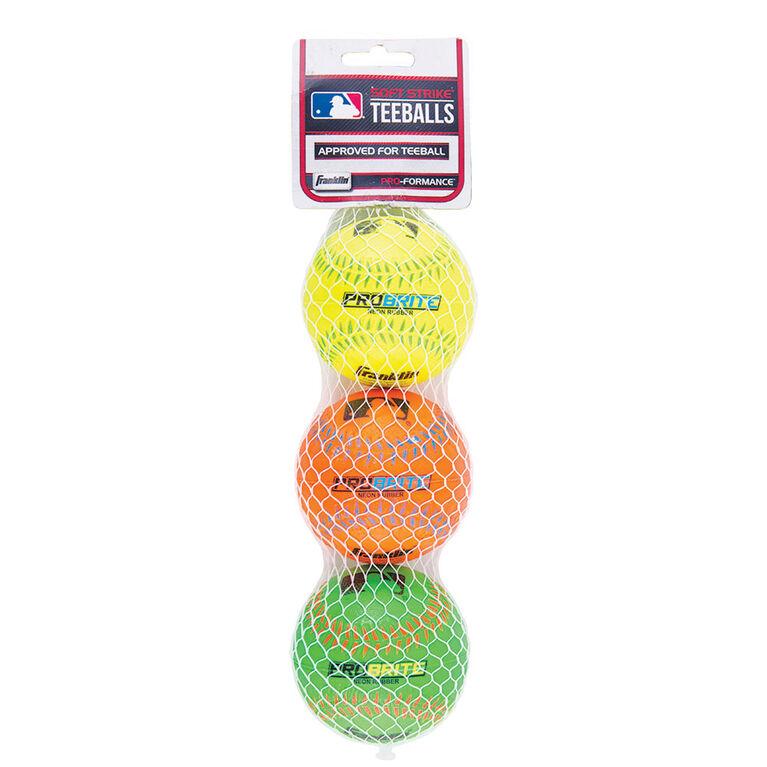 MLB 3 Pack Neon Balls