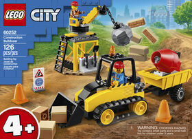 LEGO City Great Vehicles Construction Bulldozer 60252