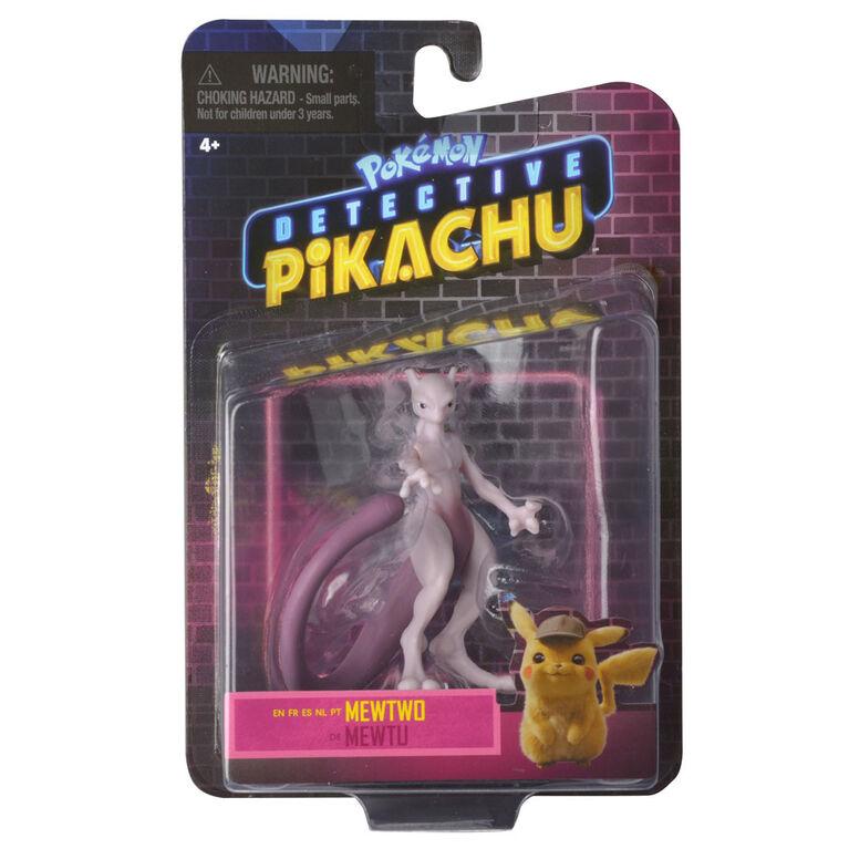 "Detective Pikachu Battle Figure Packs - 3"" Mewtwo"
