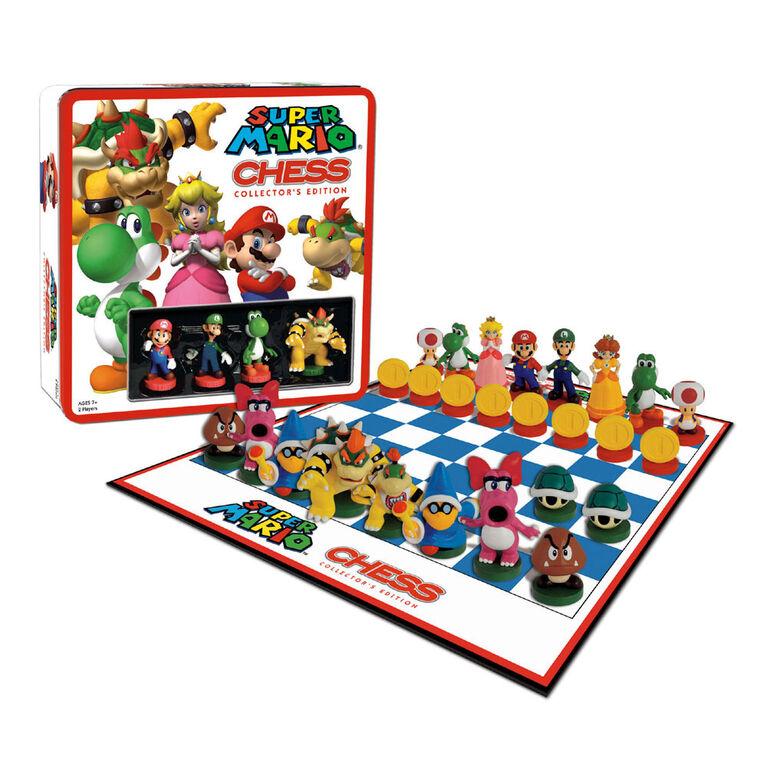 ÉCHECS: Super Mario - Édition anglaise - les motifs peuvent varier