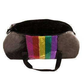 Fashion Angels - Rainbow Sequin Stripe Duffel