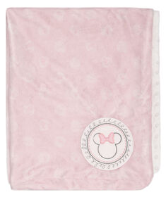 Minnie Mouse Ultra Plush Baby Blanket||Minnie Mouse Ultra Plush Baby Blanket