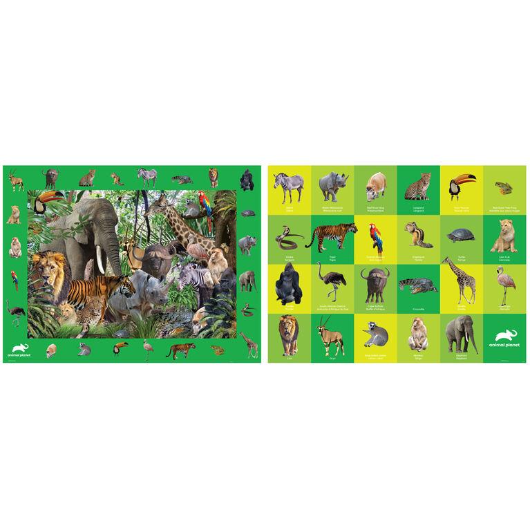 Build, Spot, & Learn Floor Puzzle - Safari