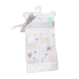 Lulujo - Modern Llama Security Blanket