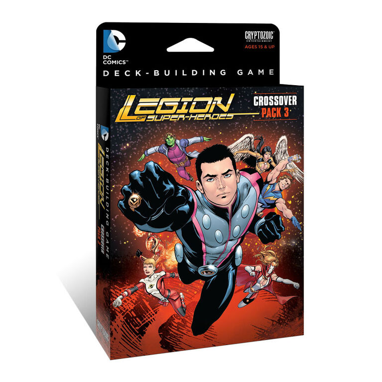 DC Comics Deck-Building Game Crossover Pack 3: Legion of Super-Heroes
