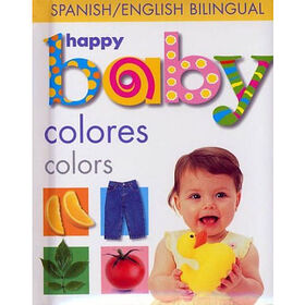 Baby Soft-To-Touch Books - Happy Baby Colors - English Edition