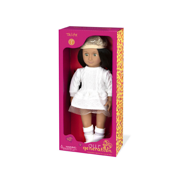 Our Generation, Talita, 18-inch Holiday Doll