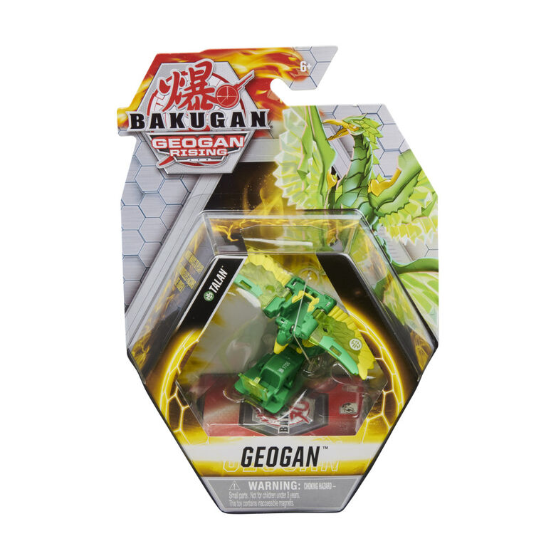 Bakugan Geogan, Talan, Geogan Rising, Figurine articulée et cartes à collectionner