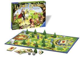 Enchanted Forest Game - French Edition