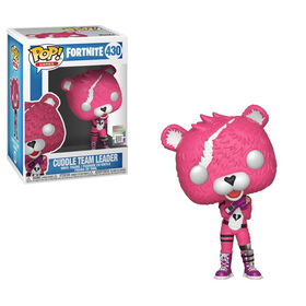 Figurine en vinyle Cuddle Team Leader de Fortnite par Funko POP!.