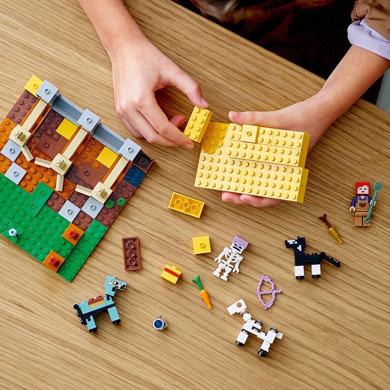 LEGO Minecraft L'écurie 21171