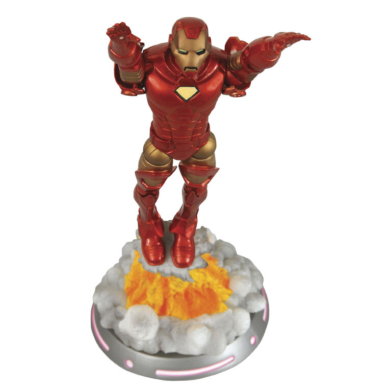 Figurine de Iron Man par Marvel Select.